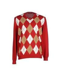 Marina Yachting Knitwear Jumpers Men Red