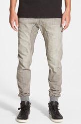 Zanerobe 'Dynamo' Denim Jogger Pants Smoke