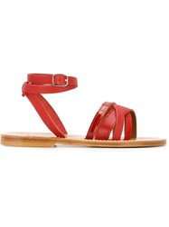 K. Jacques 'Galapagos' Sandals Red