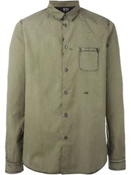 No21 Patch Pocket Shirt Green