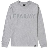 Fpar Long Sleeve Army Tee Grey