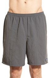 Men's Patagonia 'Baggies Longs' Swim Trunks Forge Grey
