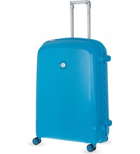 Delsey Belfort Plus Four Wheel Case 76Cm Teal Blue