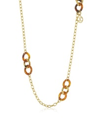 Just Cavalli Nature Stainless Steel Women's Necklace Gold