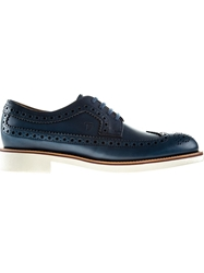 Tod's Brogue Shoes Blue