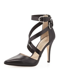 Etienne Aigner Ines Strappy Pointed Toe Pump Black