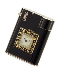 Durland Co. Estate Art Deco Cartier 18K Gold Cigarette Lighter