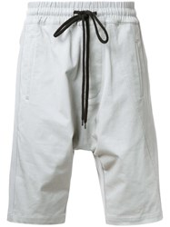 Bassike 'Combat Pull On' Shorts Grey