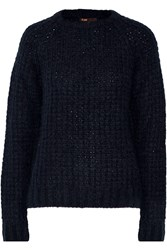 Maje Knitted Sweater Blue