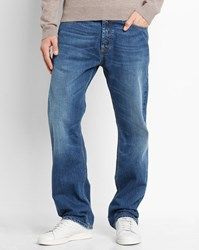 Carhartt Faded Light Blue Otero Marlow Straight Fit Jeans