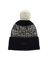 Fred Perry Bobble Beanie Hat Navy