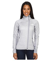 The North Face Arcata Hoodie Tnf Light Grey Heather Mid Grey Purdy Pink Women's Sweatshirt Tnf Light Grey Heather Mid Grey Purdy Pink