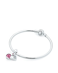 Pandora Design Pandora Gift Set Sterling Silver And Cubic Zirconia You And Me Bangle Moments Collection