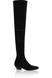Tamara Mellon Go West Suede Thigh Boots