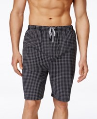 Michael Michael Kors Men's Plaid Woven Pajama Shorts