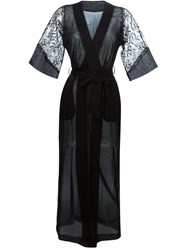 La Perla 'Merveille' Night Robe Black