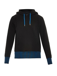 Christopher Kane Contrast Hem Hooded Sweatshirt