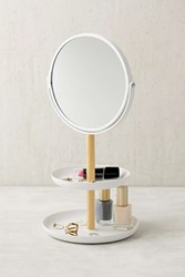 Urban Outfitters Tosca Tiered Catch All Dish With Mirror White