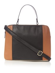 Therapy Carrie Triple Compartment Handbag Black Multi