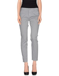 Care Label Trousers Casual Trousers Women Grey