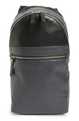 Men's Boss 'Baldev' Sling Bag Black