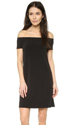 Velvet Sorana Off Shoulder Dress Black