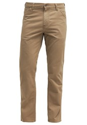 Wrangler Texas Trousers Khaki Washed