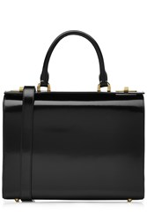 Simone Rocha Patent Leather Shoulder Bag Black