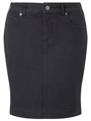 John Lewis Collection Weekend By Denim Twill Short Skirt Black