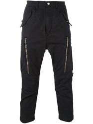 Diesel Black Gold Cropped Trousers