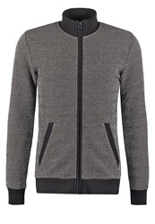 Teddy Smith Guru Tracksuit Top Anthracite Chine Mottled Anthracite
