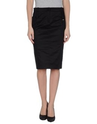 Massimo Rebecchi Knee Length Skirts Black