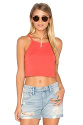 Nation Ltd. Tina Crop Tank Coral
