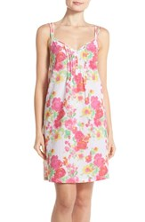 Women's Lauren Ralph Lauren Strappy Cotton Chemise