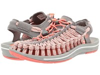 Keen Uneek Flat Fusion Coral Camo Women's Shoes Orange