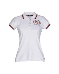 North Sails Topwear Polo Shirts Women White