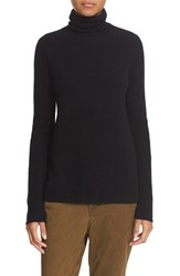 A.L.C. Women's 'Pippa' Surplice Back Wool And Cashmere Turtleneck Sweater Black