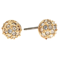 Cachet London Rose Gold Plated Swarovski Crystal Pave Small Earrings