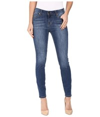 Liverpool Penny Ankle Skinny 28 In Montauk Mid Blue Indigo Montauk Mid Blue Indigo Women's Jeans