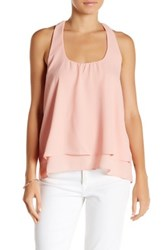 Lucy Love Bow Back Tank Pink