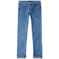 A.P.C. Petit New Standard Japanese Denim Jean Blue