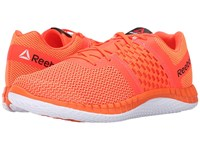Reebok Zprint Run Electric Peach Atomic Red White Men's Running Shoes Orange