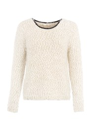 Lavand Basic Casual Sweater Winter White