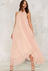 Hot As Hell Life's A Peach Maxi Dress Pink