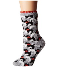 Vera Bradley Cozy Socks Scottie Dogs Women's Crew Cut Socks Shoes Black