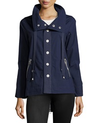 Raison D'etre Zip Back Trenchcoat Ink Navy