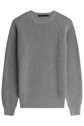 Marc By Marc Jacobs Cotton Wool Pullover Grey