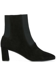 Casadei Pointed Toe Boots Black