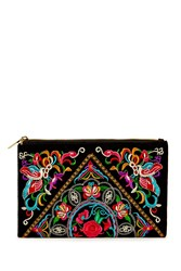 Forever 21 Embroidered Makeup Pouch