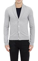 Ralph Lauren Purple Label Shawl Collar Cardigan Grey